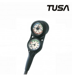TUSA Mini Console Manometer, Depth Gauge And Compass